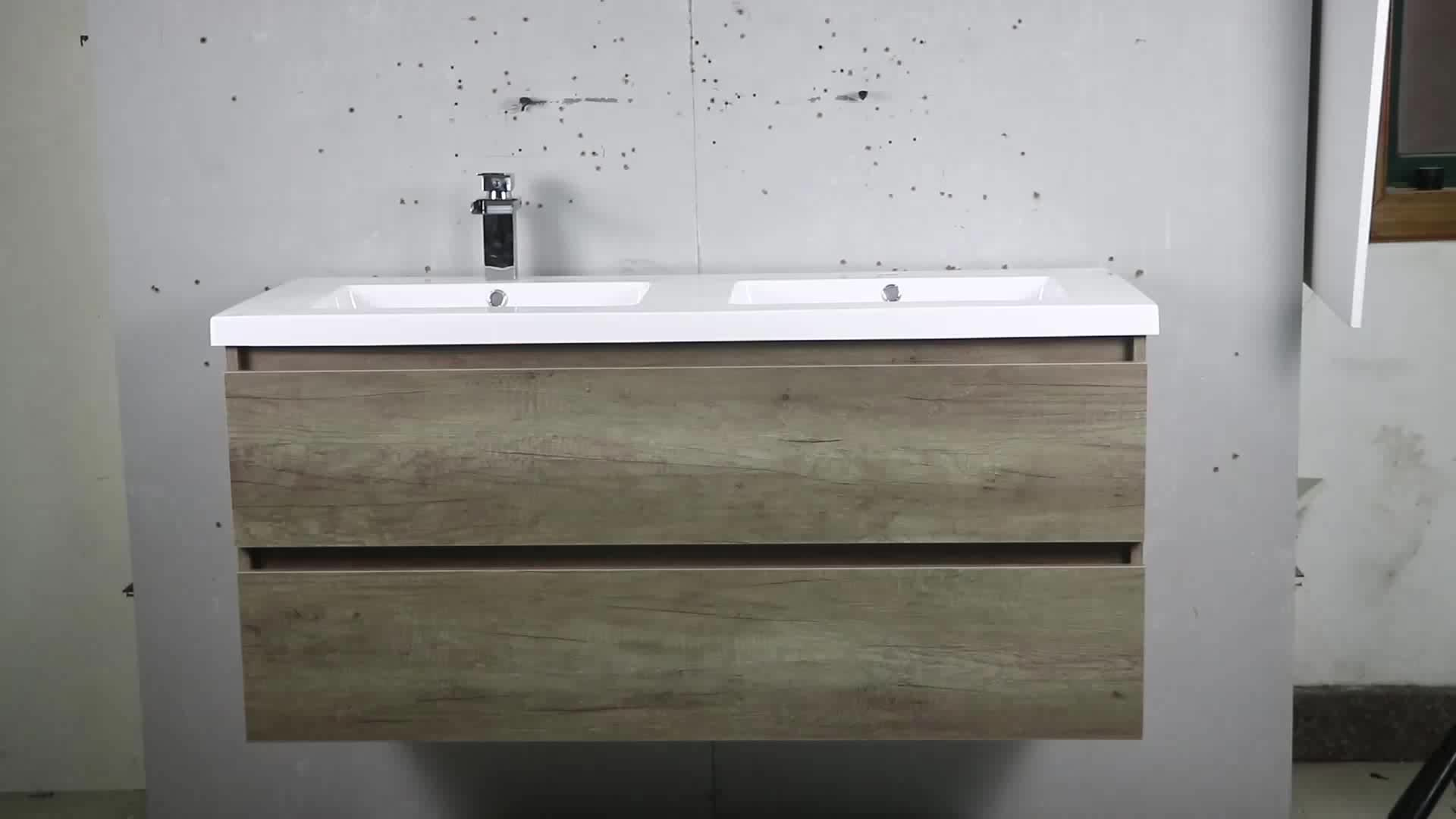 48 Inch Double Sink Wall Mounted Lowes Bathroom Vanity ...