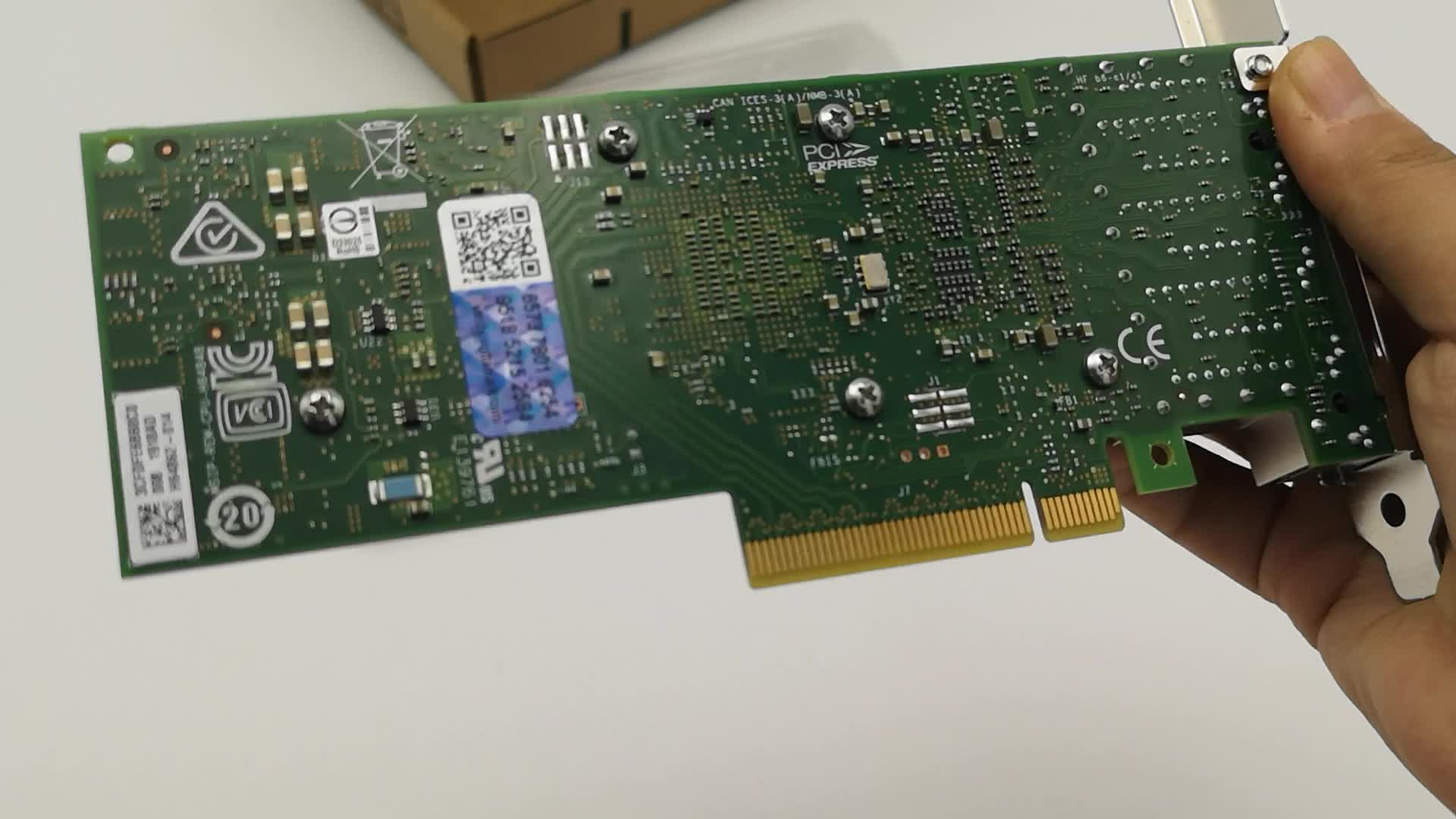 4-port NIC 10GbE PCIE Ethernet Converged Network Adapter X710-T4
