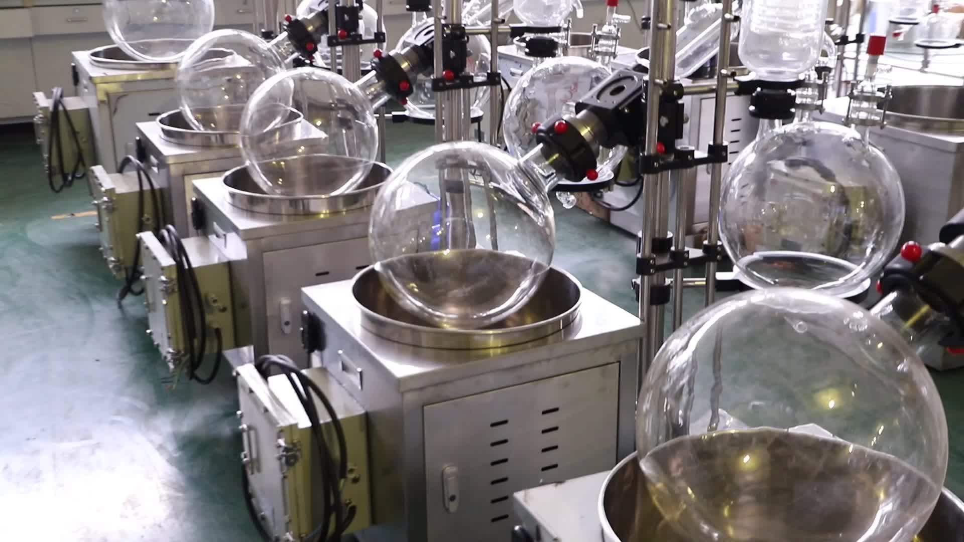 चीन 2l आसवन प्रयोगशाला के लिए वैक्यूम रोटरी बाष्पीकरण