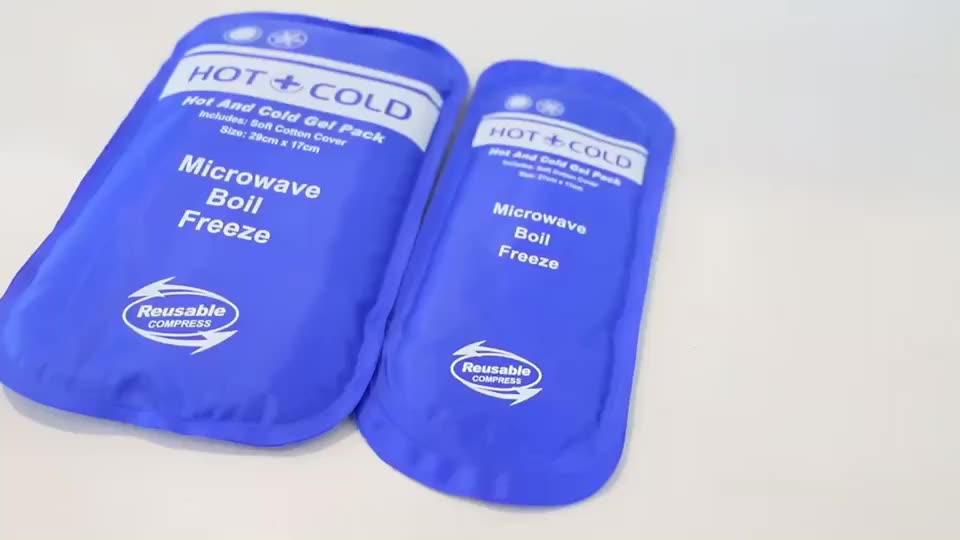Medico impacco freddo caldo freddo gel pack in grado di fornire il campione libero riutilizzabile gel impacco di ghiaccio