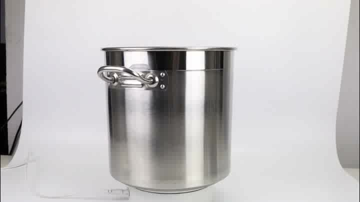 Home Kitchen Stainless Steel Large Stock Pot/Big Stock Pot With Lid