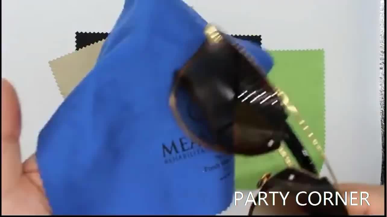 कस्टम सेल फोन लैपटॉप टीवी स्क्रीन साफ लेंस चश्मा Microfiber साफ कपड़े