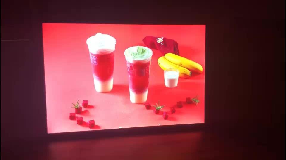 슈퍼 슬림 디스플레이 프레임 400mm * 500mm 광고 레스토랑 led 메뉴 보드
