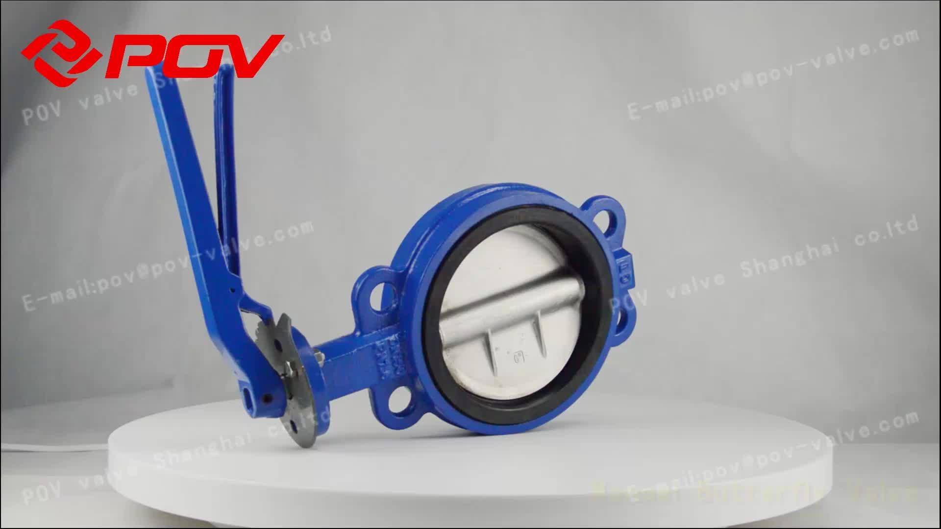 플라스틱 공기 작동 다이어프램 밸브