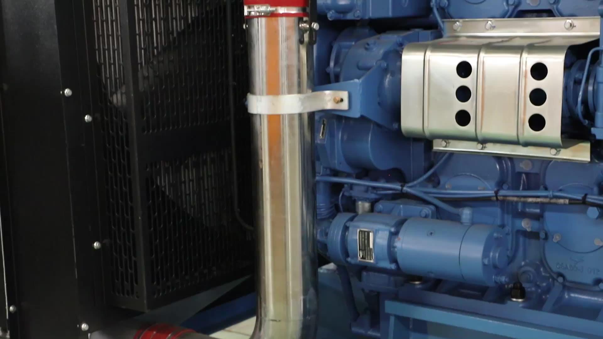 MTU generating station 1MW diesel generator 1000kw  water cooled power genset reasonable price for sale
