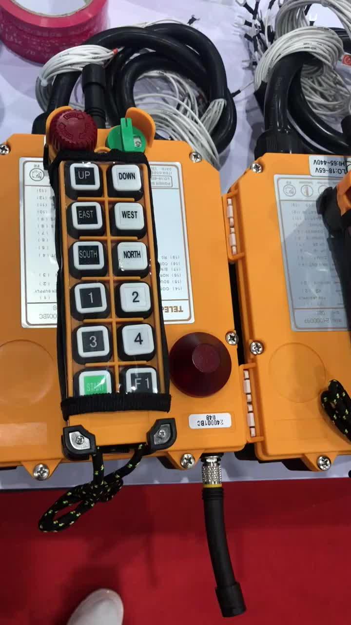 Telecrane wireless Remote Control F24-10D F24-12D for overhead crane