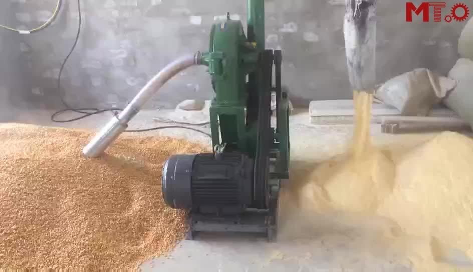 Feed crusher mixer automatic crushing feed