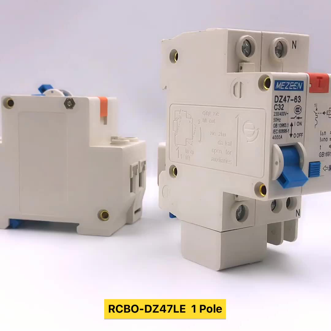 Elcb Price Dz47le 2 Pole Earth Leakage Circuit Breaker 25a 300ma Connection Diagram Of Rcbo