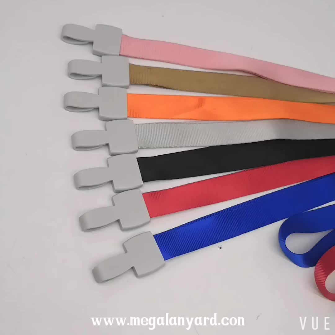 Factory Cheap Polyester Cell Phone String Lanyard