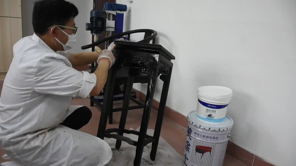 Polyurethane wood lacquer clear coat plastic paint for wood