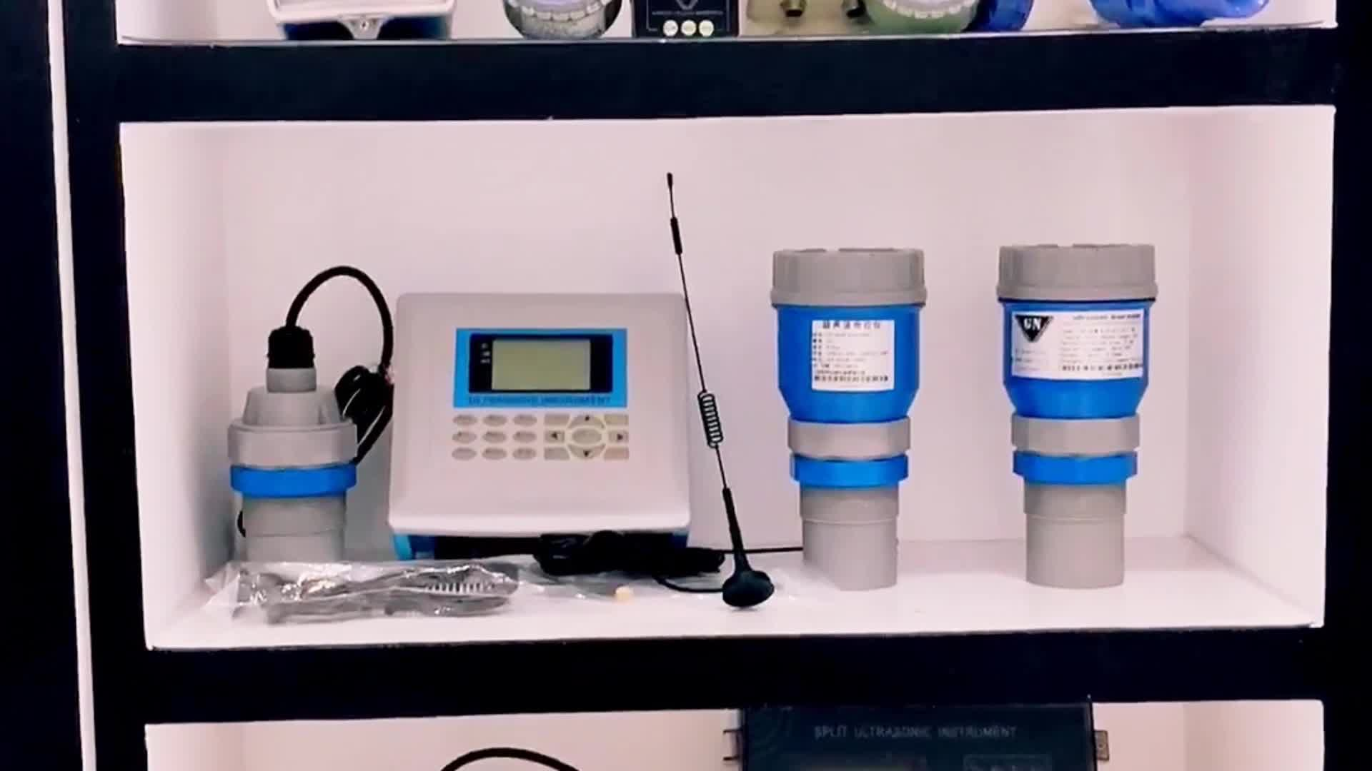 8M Wster น้ำ Ultrasonic Acid Liquid การใช้ถังเซ็นเซอร์ระดับ