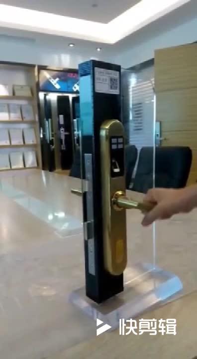 Slim Style Hand Scanner Door Lock Fingerprint Home Door