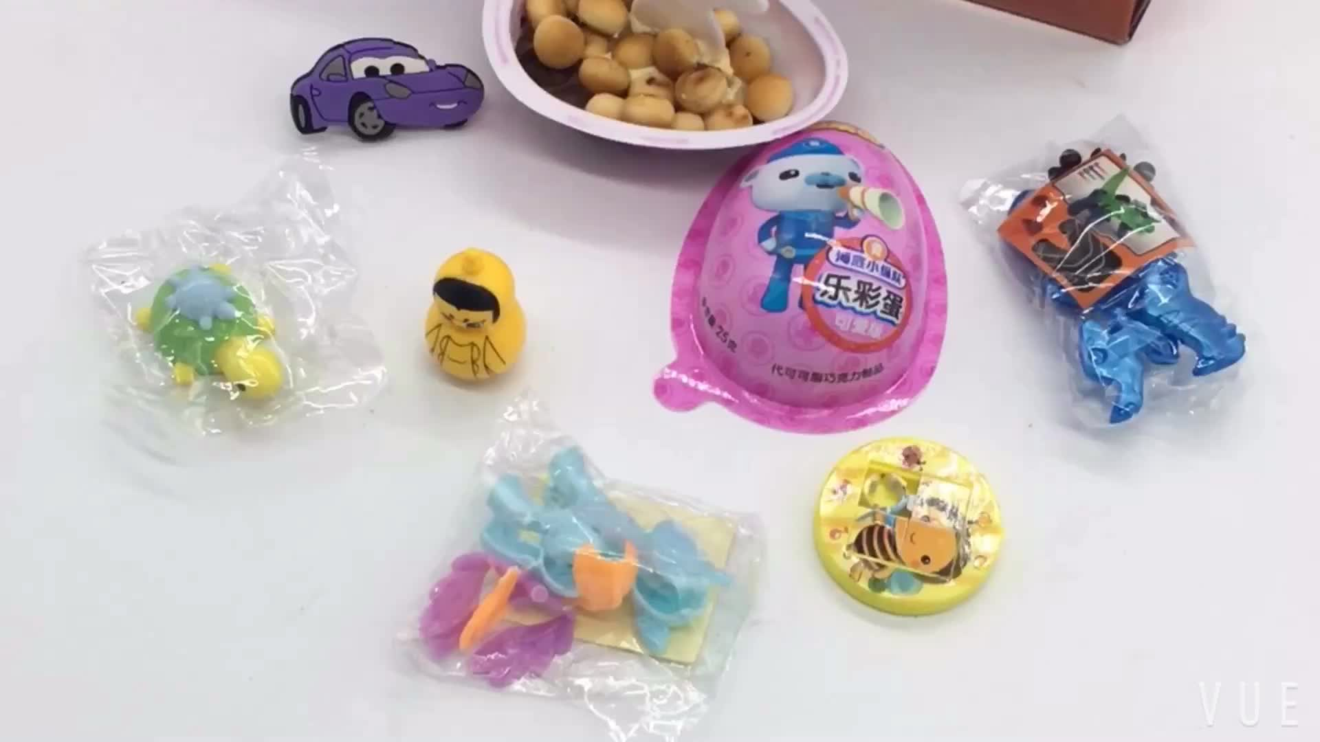 Promotional chocolate egg surprise toys for children