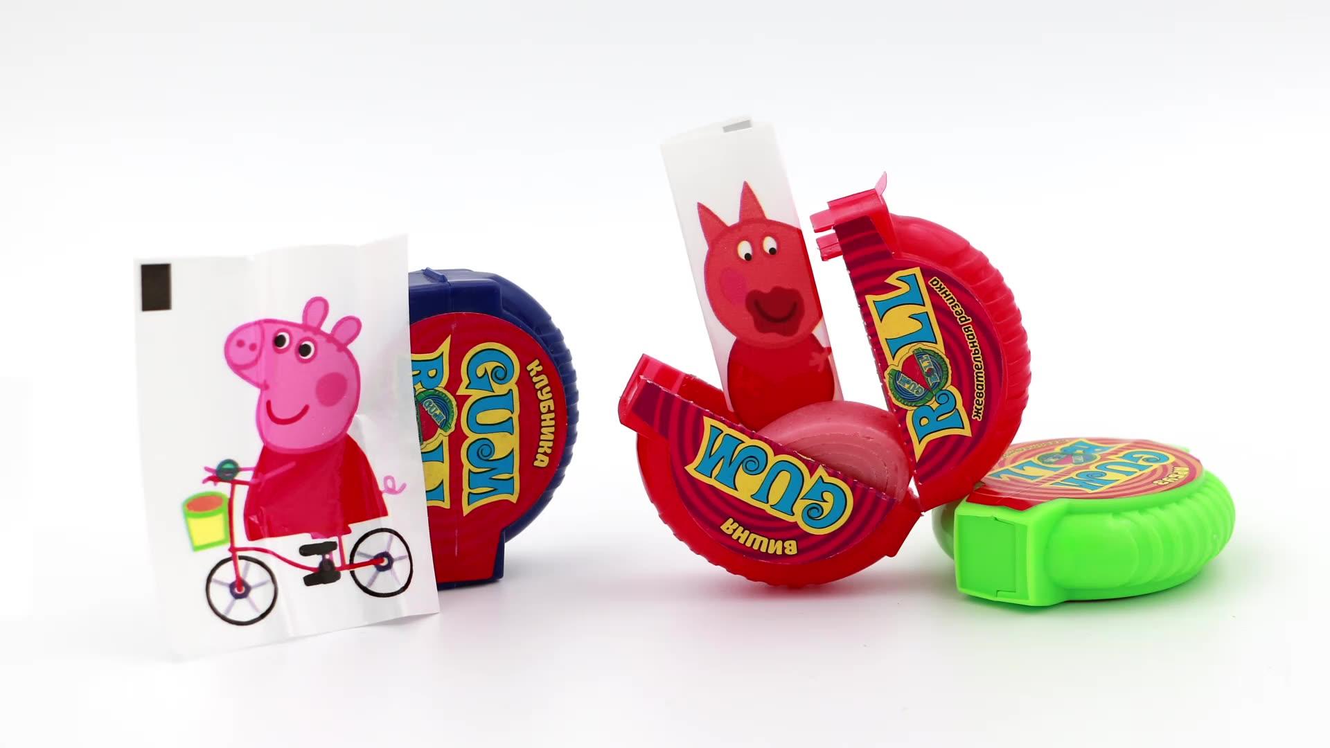 high quality custom halal fruit flavor crazy chewing gum  roll bubble gum manufacturer