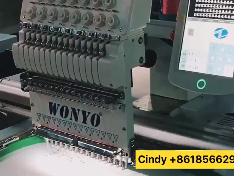 Single Kepala Bordadoras Computarized Tajima Komersial Bordir Mesin Logo Bordir Mesin