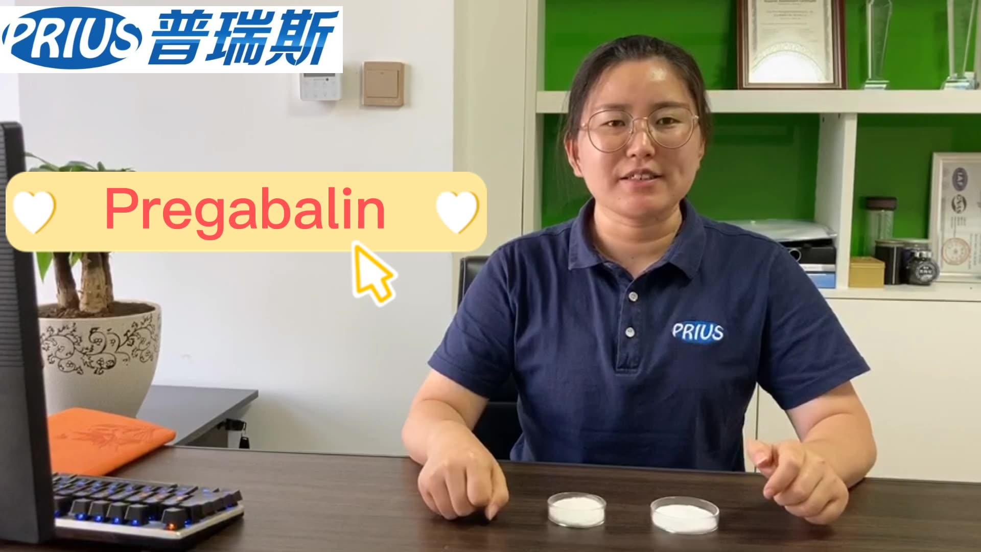 Hoge Zuiverheid Pregabalin 300Mg Capsules 4 Methylpregabalin Lyrica Poeders 99%
