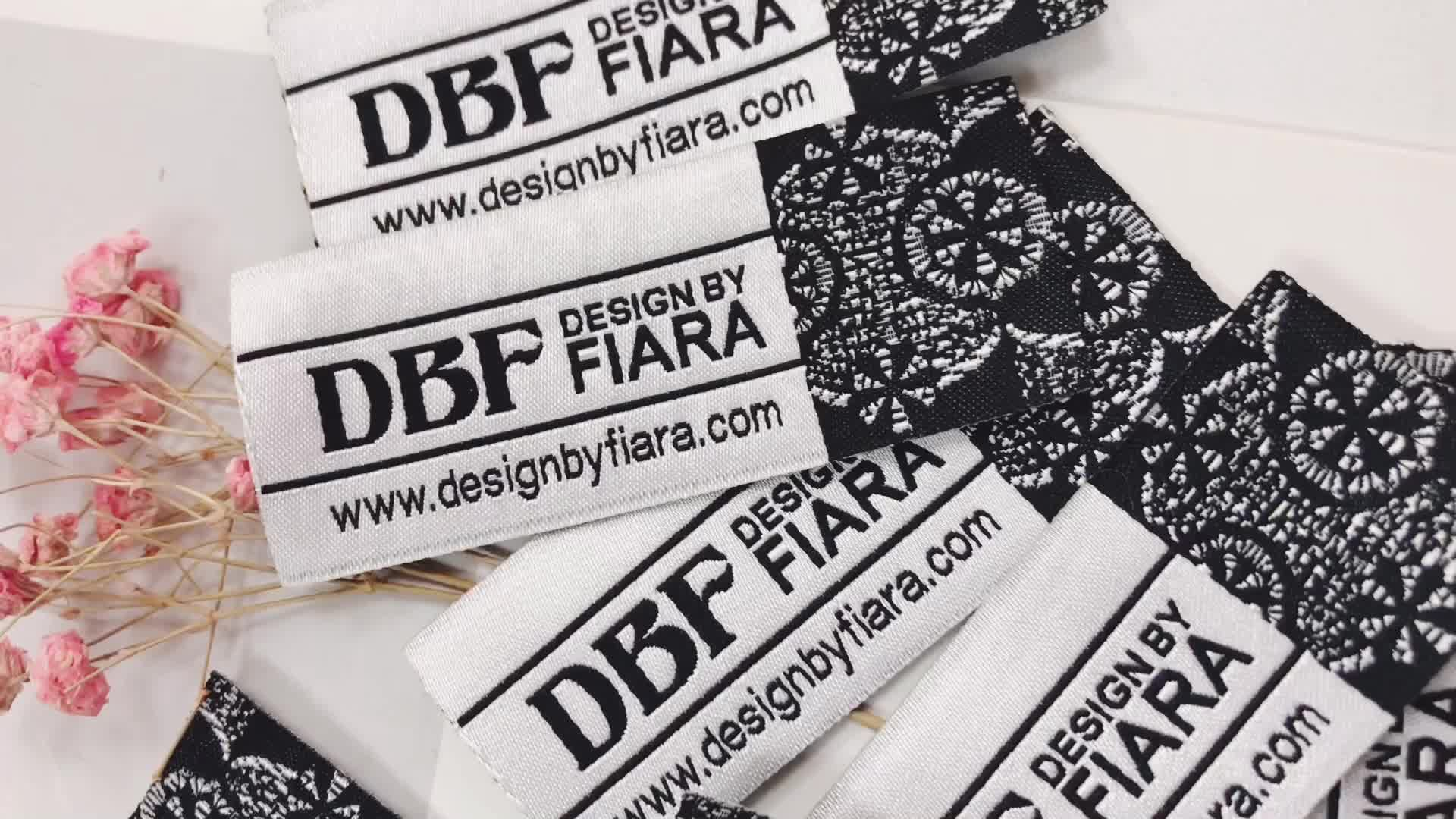 made in China clothing labels sew on custom for summer fashion t-shirt clothing