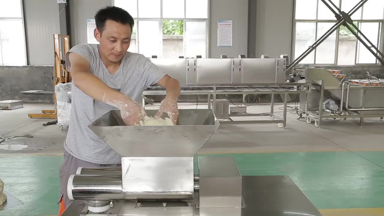 automatic commercial dough divider and rounder machine for factory restaurant