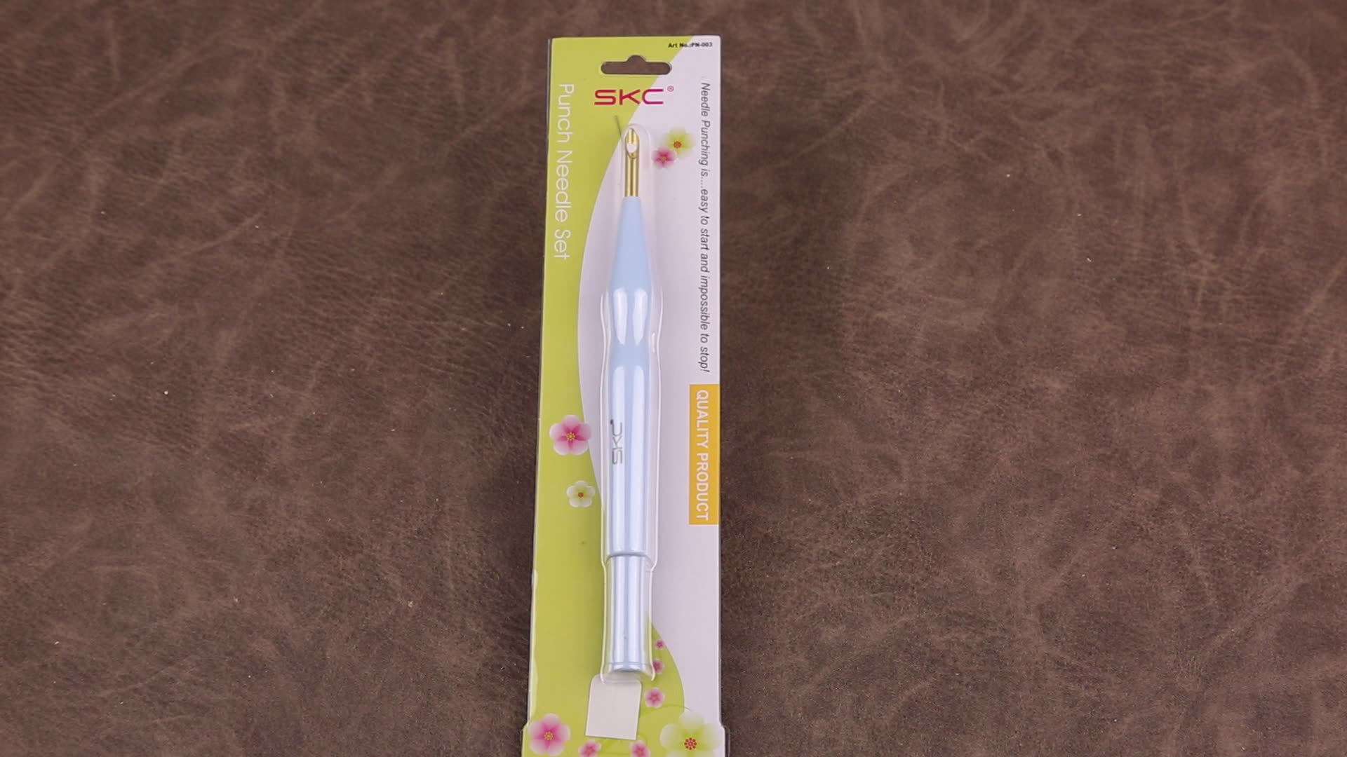 SKC Knitting Tool Embroidery Pen Adjustable Punch Needles Set