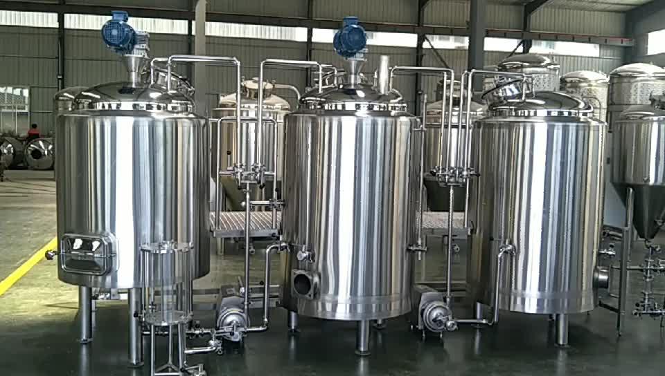 10bbl Mashถังlauter tunlกาต้มน้ำชงและถังน้ำวนอุปกรณ์การต้มเบียร์