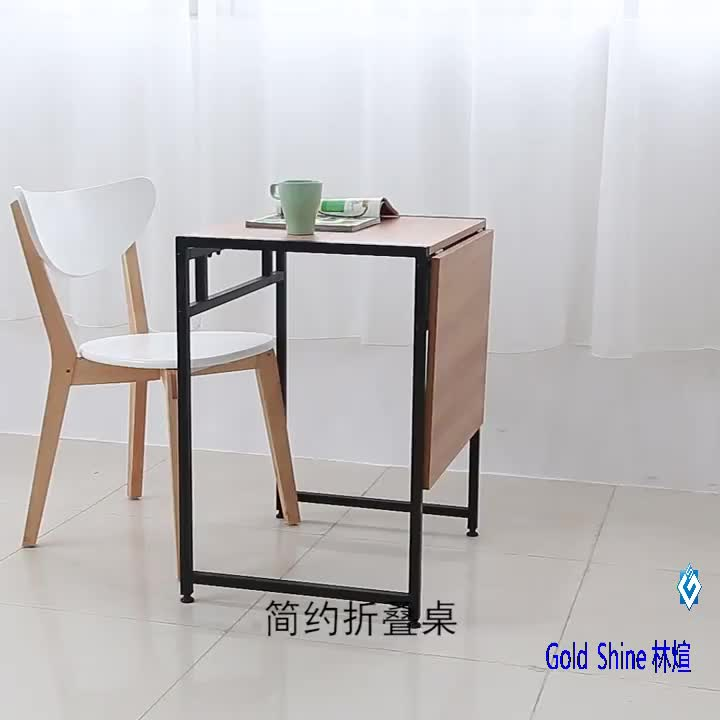 Space saving furniture extending tabletop convertible desk into dining table 2 in 1 coffee and lunch small table