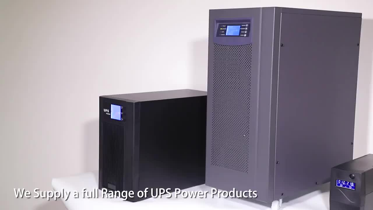 ZX High Frequency Online UPS Power Bank 10KVA 20KVA 30KVA With 2 Hours Backup For Fridge