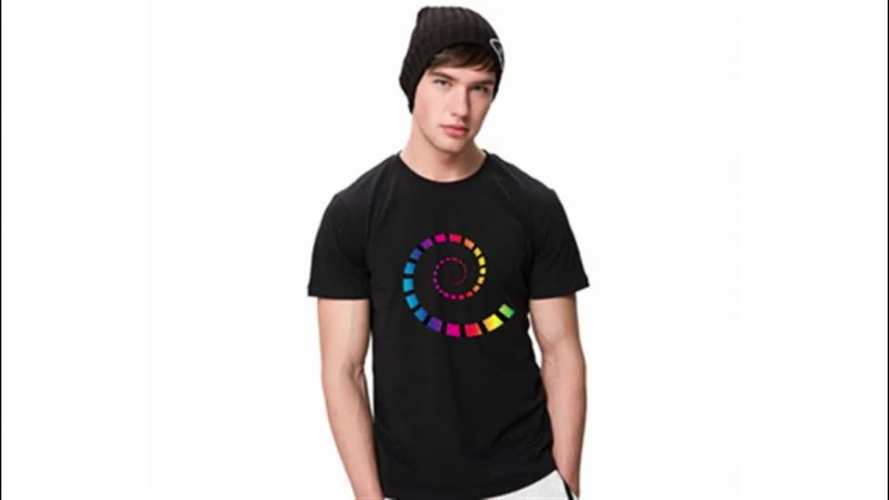 Free Shipping Printed Short Sleeve T-shirt Male Hip Hop T shirt Customized Clothing