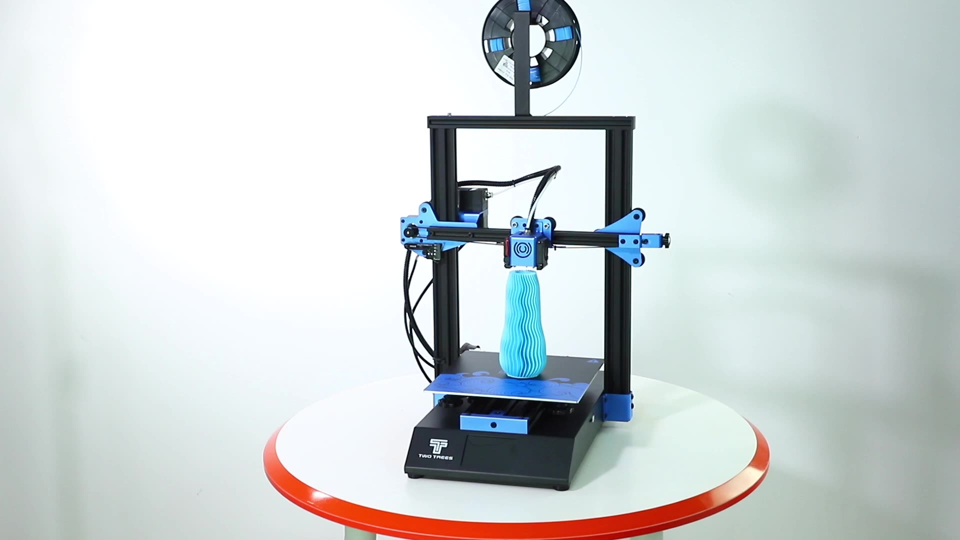2020 Hot sales Bluer 235*235mm High precision Auto Leveling Resume PrintTempered Glass Large Size 3d printer