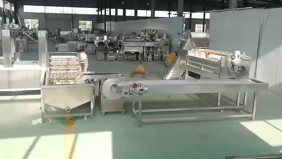 Automatic Scale Frozen Potato Flakes Chips Processing Plant Making Machines French Fries Production