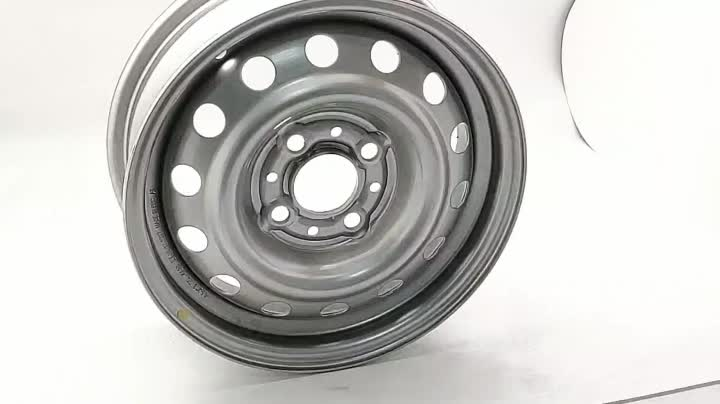 Wheelsky ET1345407-S popular 13 inch 13x4.5 PCD 4x139.7 750kg load capacity silver trailer rim