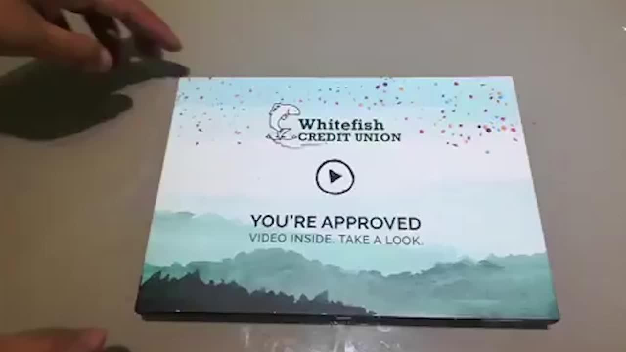 Video gift box digital business velvet invitation card lcd screen gift videobox