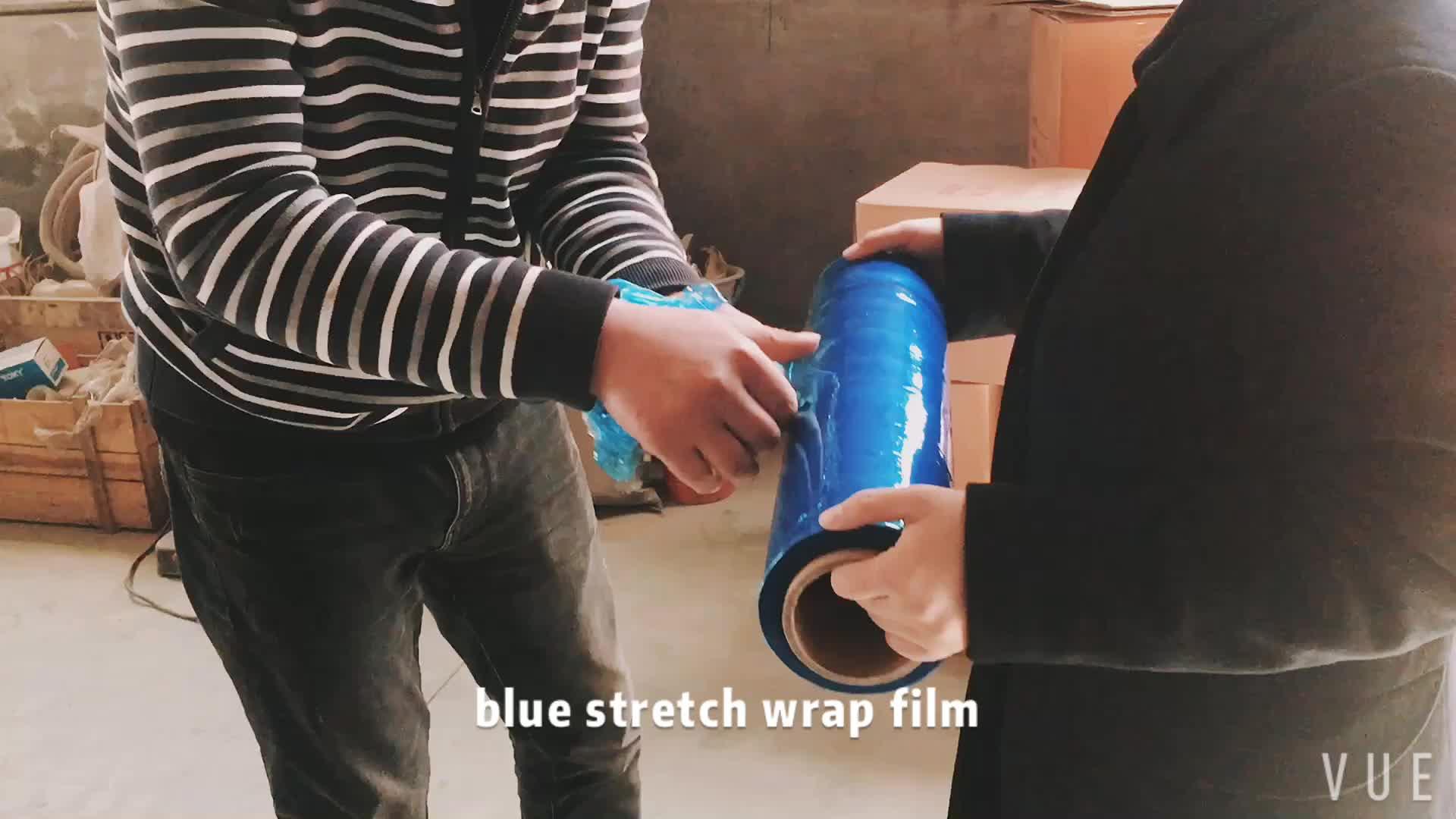 Chiaro avvolgimento pallet 25 micron lldpe stretch film con il prezzo basso