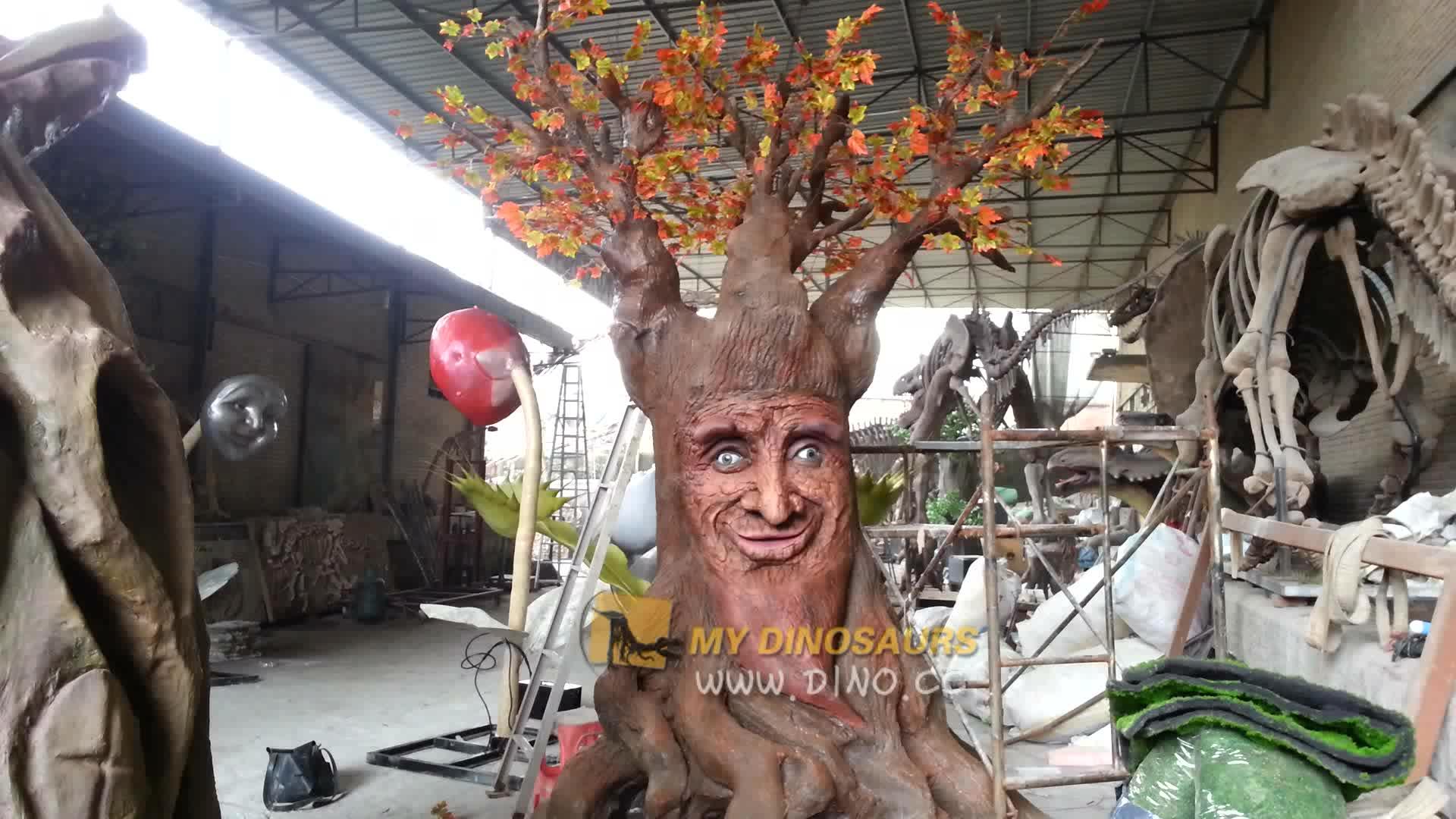 MY DINO AA585 Attraction Kids Interactive Large Talking Tree Animatronic