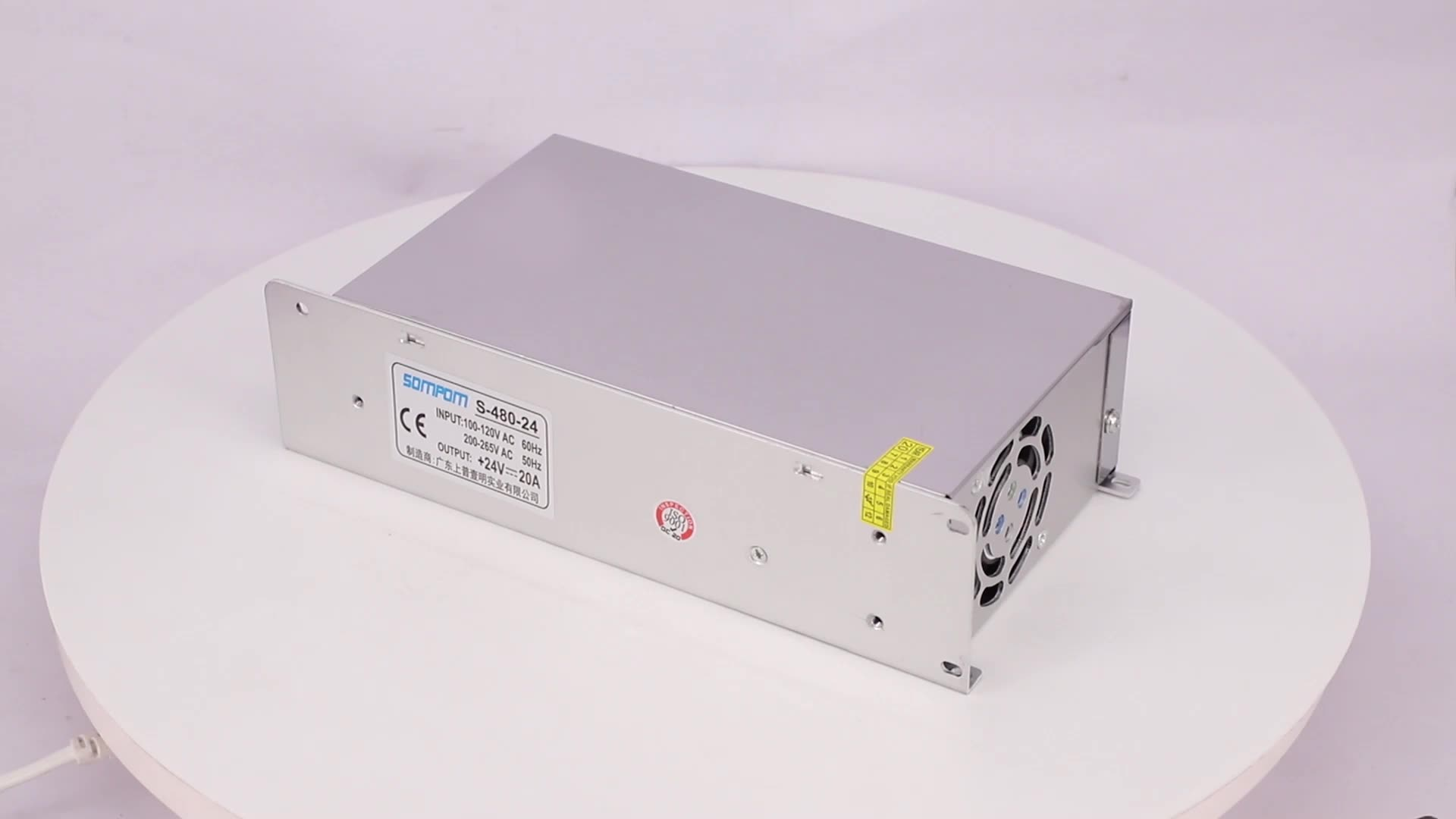 Durable useful regulated 220V to 24v dc converter 24v 20a 480w dc switch mode switching power supply