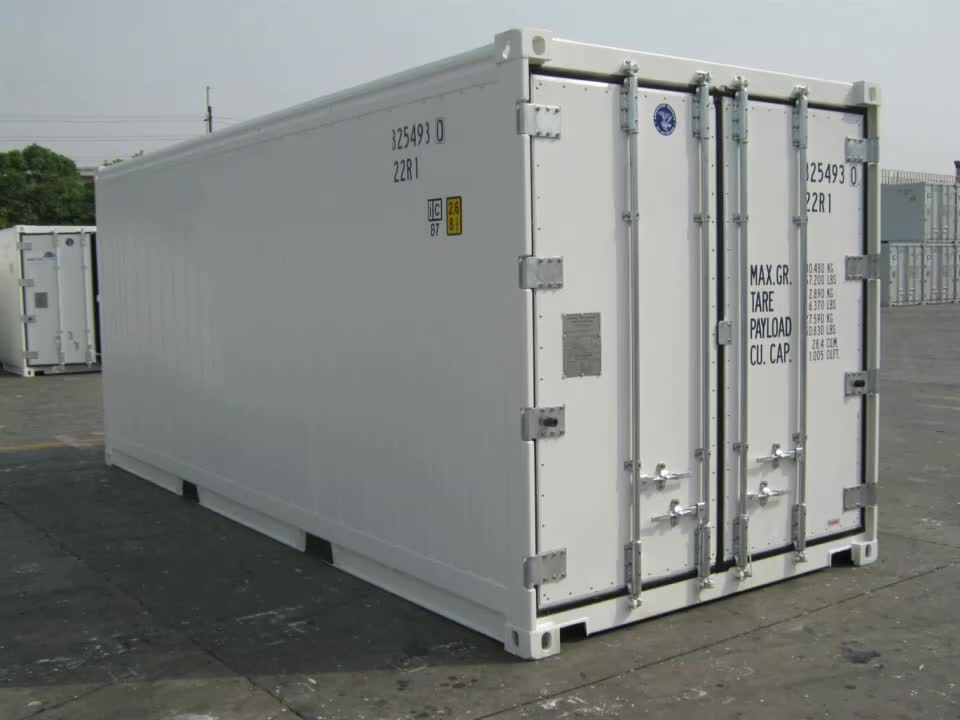 TWO Side Door Opening Thermo King Refrigerator Freezer 40ft Reefer Container for Sale