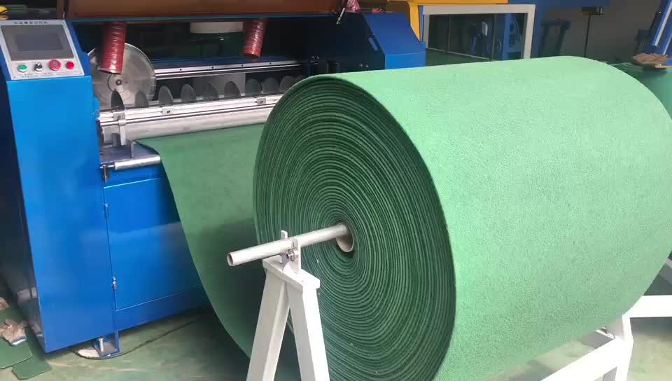 Scheuer pad, waschen schwamm automatische horizontale und vertikale schneiden maschine, auto schneiden und schneide maschine
