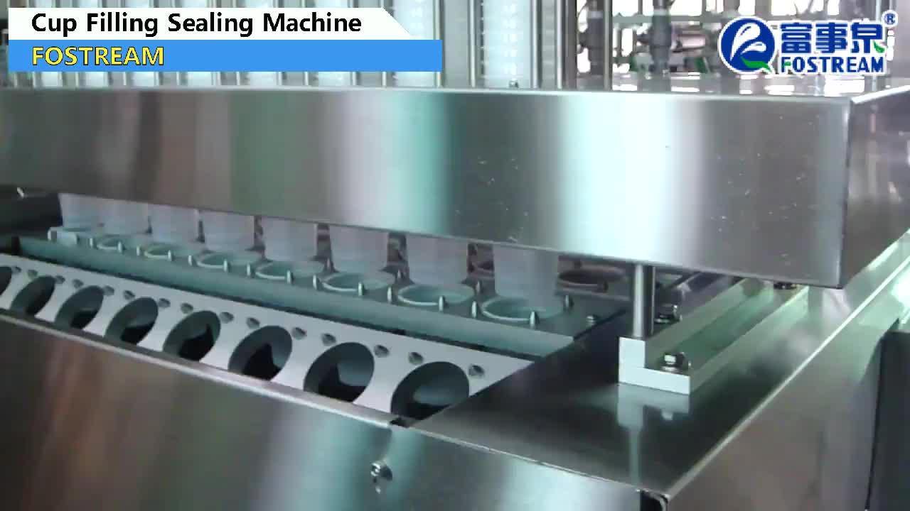 Full-Automatische 2 4 6 8 Heads Mineraalwater Cup Verpakking Machine