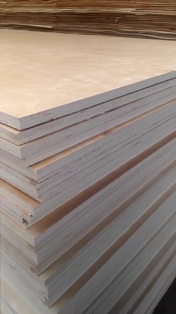 16mm calibrado uso folheado de pinho da madeira compensada para a construção com preço baixo