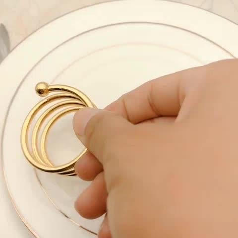 Usine direct créatif Nouveau fer doré oiseau cage boîte à bonbons