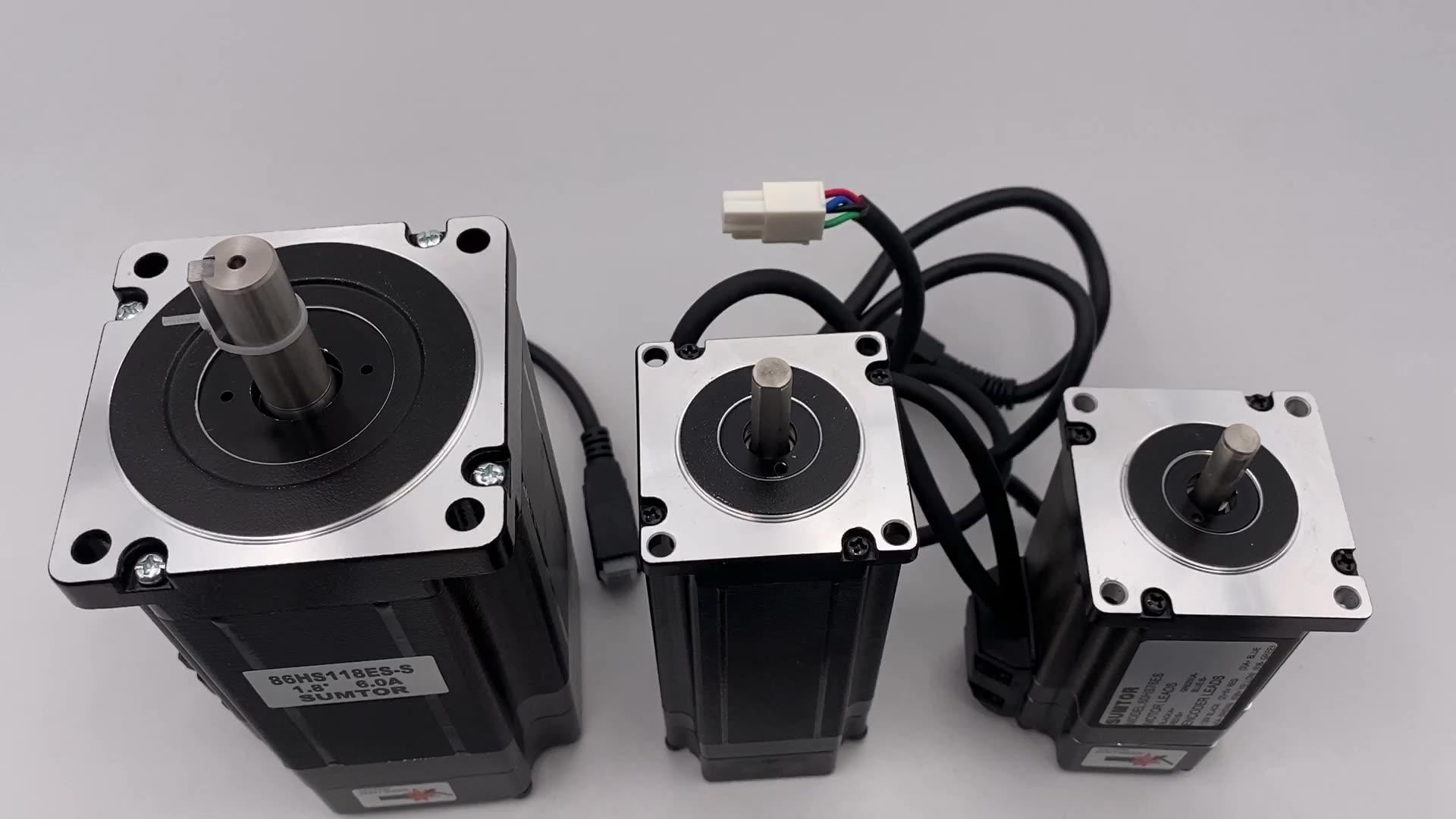 57HS112ES nema 23 112mm 3N.m 4.2A digital closed-loop stepper motor with HSC57A driver