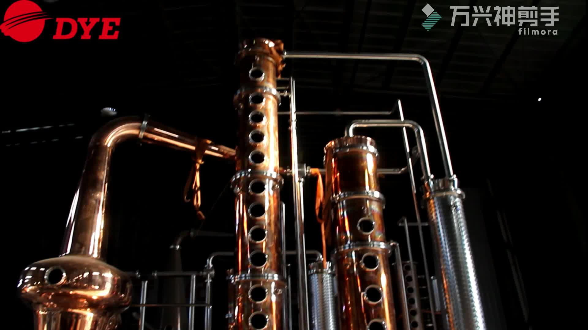 Apparecchi di distillazione di alcol vodka macchina distillery colonna per la vendita
