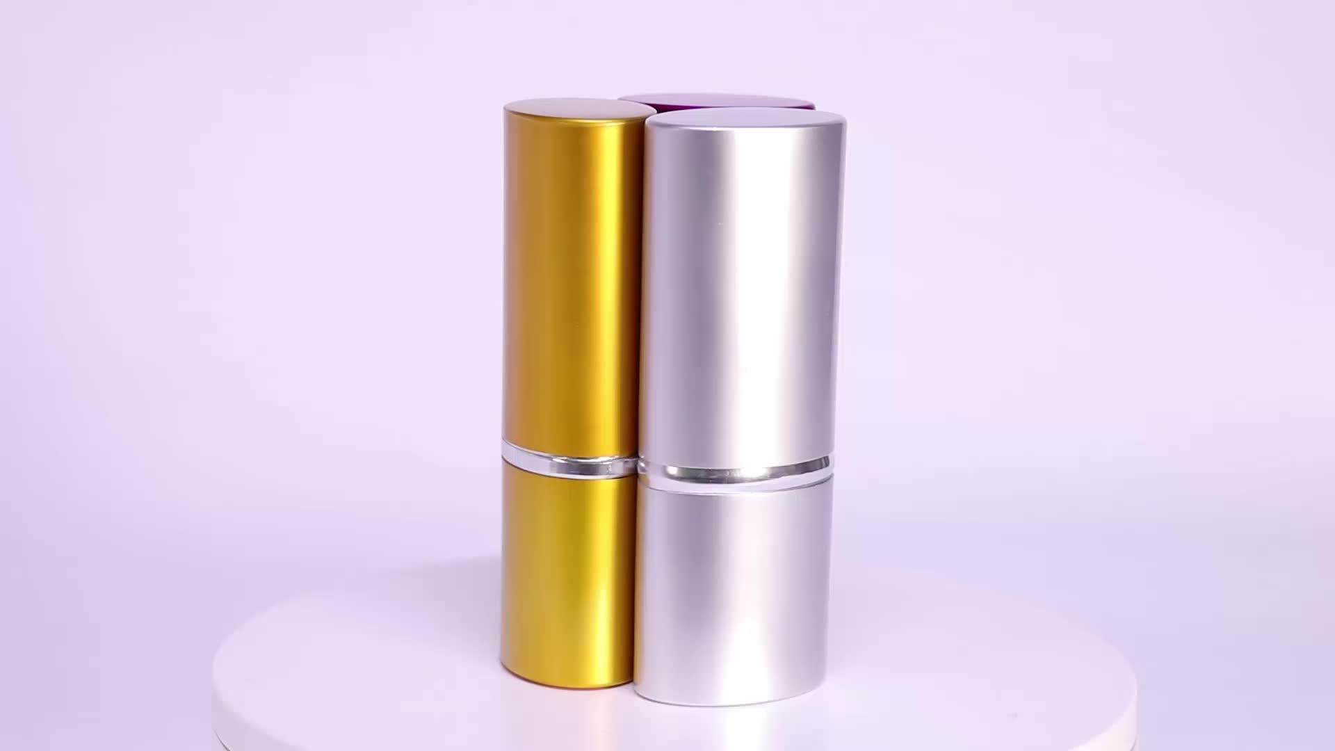 OEMPROMO Aluminum Cylinder gold color 4pcs Beauty pedicure Manicure set
