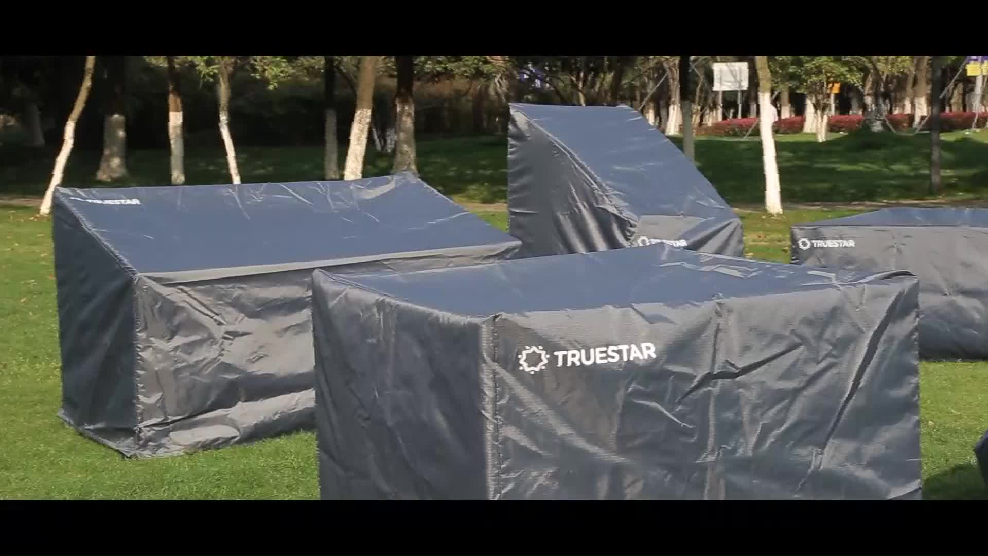210D Polyester PU Coating Stof BBQ Grill Cover Waterdichte Outdoor Barbecue Grill Covers