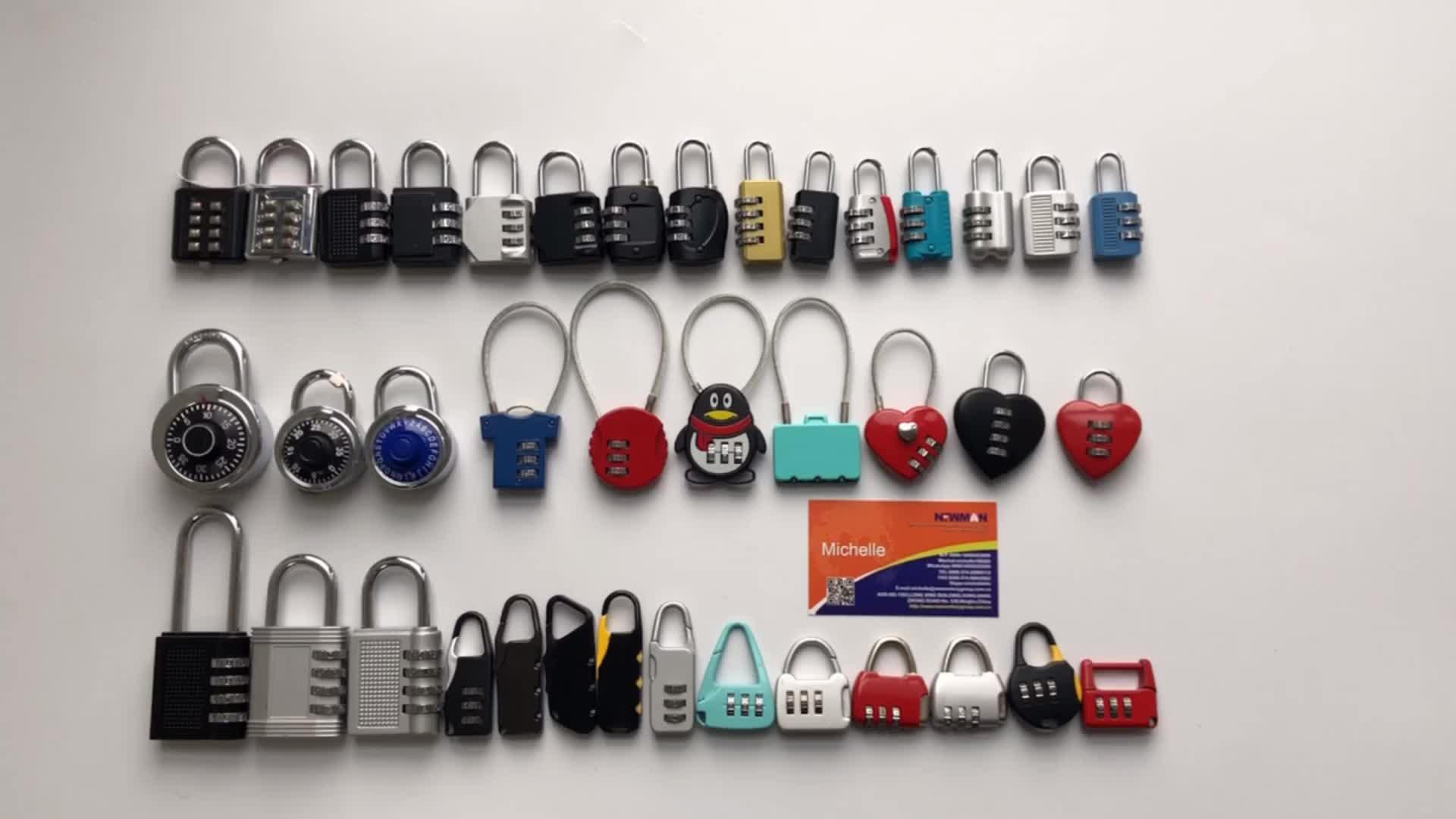 keyless security brass combination padlock,mini rectangular safety brass password lock