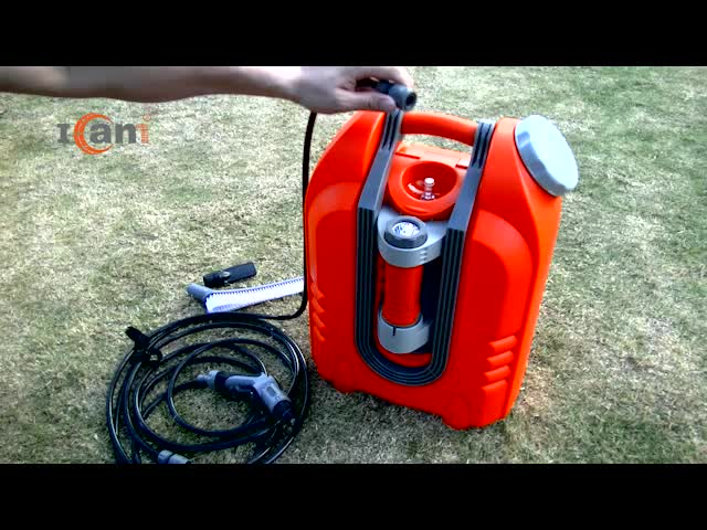 Factory Supply 12V DC Portable pressure washer with rechargeable battery