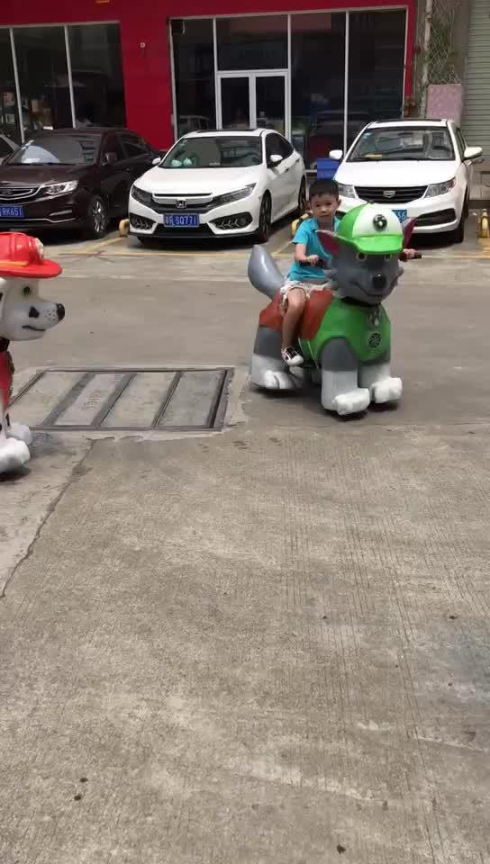 JUMI 실리콘 소재 유원지 걷기 어린이 배터리 코인 타고 동물 장난감 타고 커버 쇼핑몰