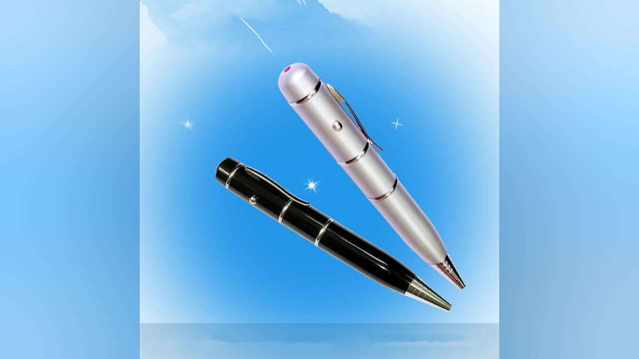 2018 High quality metal 4gb 8gb 16gb 32gb usb flash drive laser pointer ball pen
