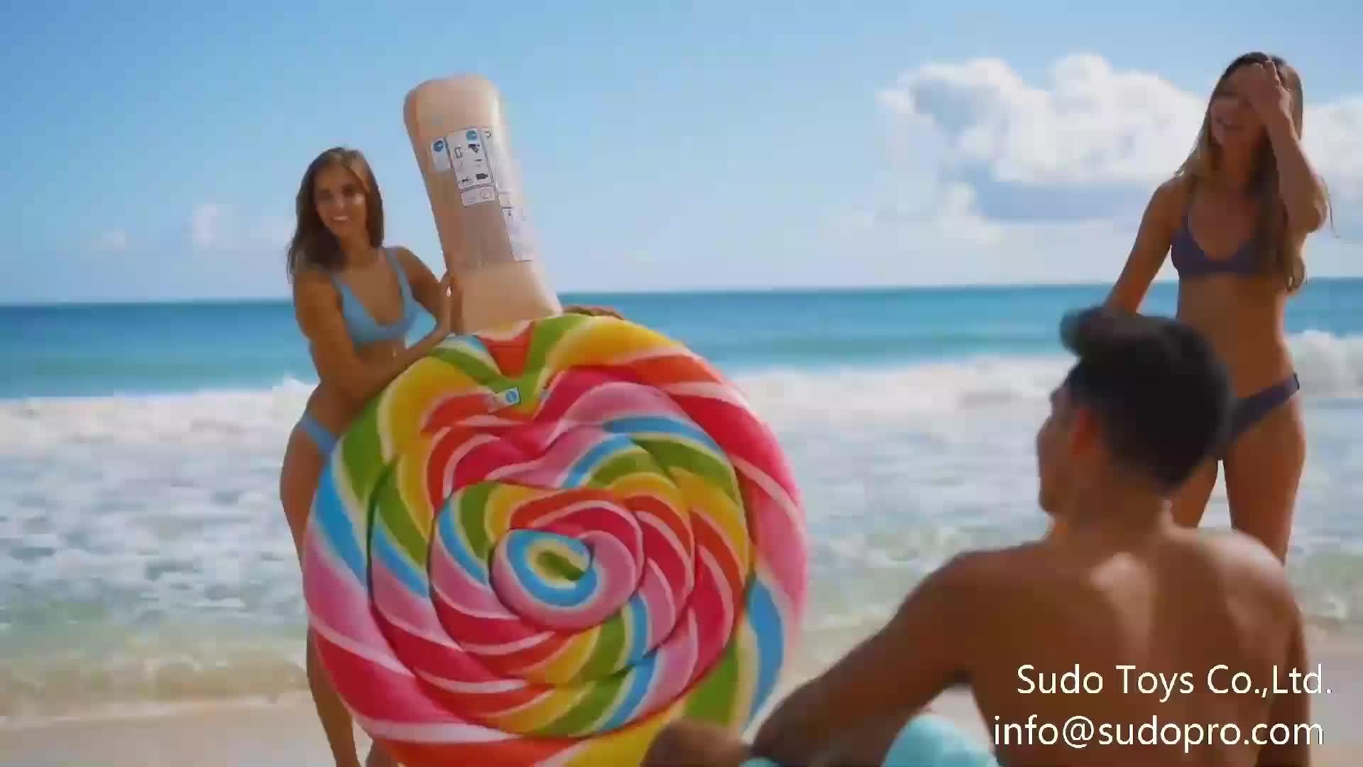 En stock 154x138x97cm o de versión pequeña Rosa rojo pvc inflable de flamingo playa piscina lago flotar Juguetes