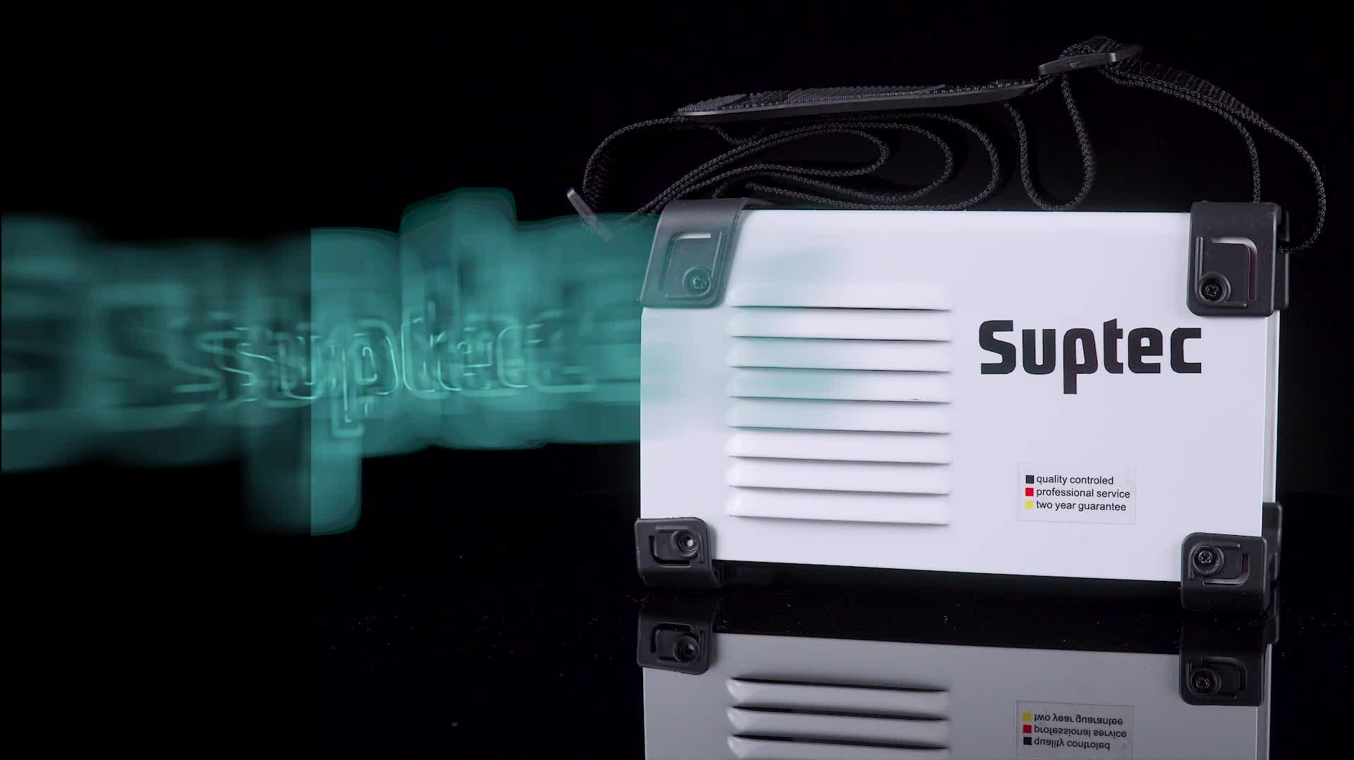 SUPTEC Yüksek frekanslı profesyonel mikro tek fazlı dc igbt mma100 kaynakçı taşınabilir mini invertör arc kaynak makinesi ark kaynakçı