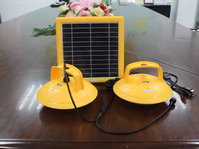 Super Bright Portable USB Rechargeable Solar camping lights led